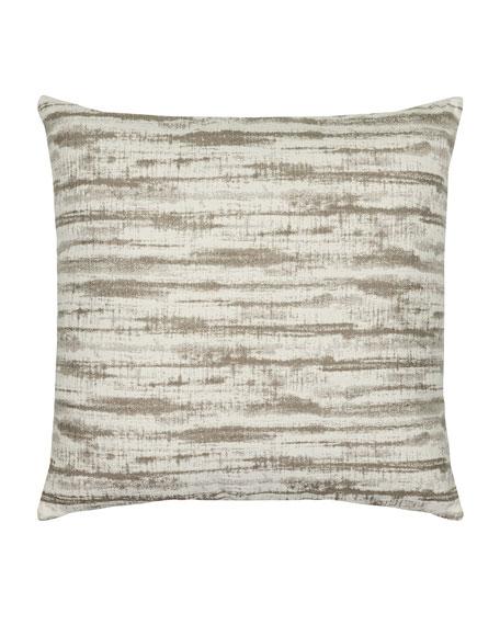 Linear Sunbrella Pillow, Taupe