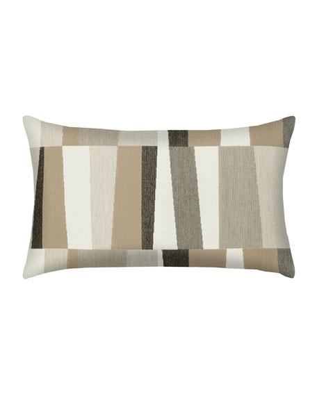 Strata Lumbar Sunbrella Pillow, Gray