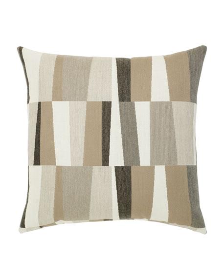 Strata Sunbrella Pillow, Gray