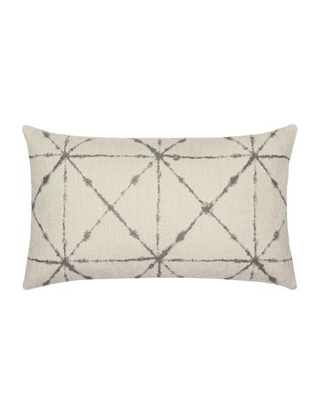 Trilogy Lumbar Sunbrella Pillow, Taupe
