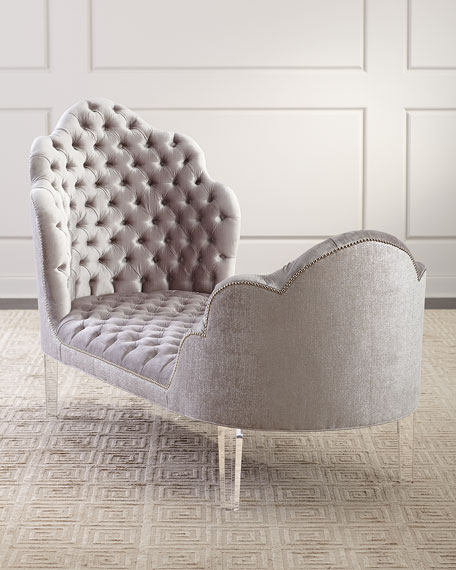 Elise Tufted Chaise