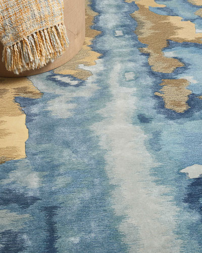 Calista Hand-Tufted One Of a Kind Rug  7'9 x 9'9