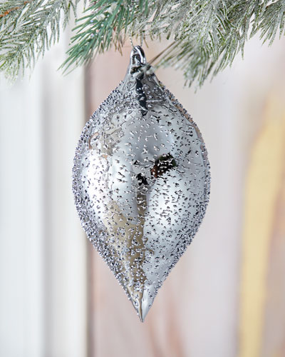 Aurora Teardrop   Christmas Ornament