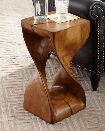 Caleb Faux Wood Drink Table
