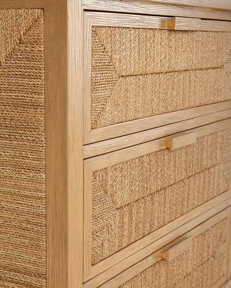 Decklin Rope Trim Dresser