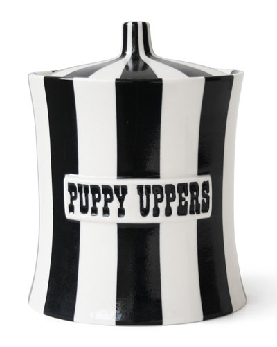 Vice Puppy Uppers Dog Treat Canister