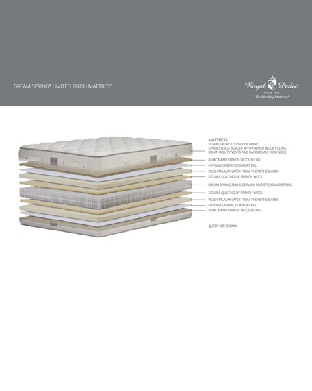 Dream Spring Limited Plush California King Mattress