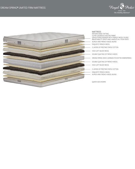 Dream Spring Limited Firm California King Mattress