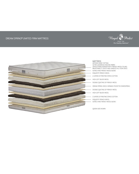 Dream Spring Limited Firm Queen Mattress