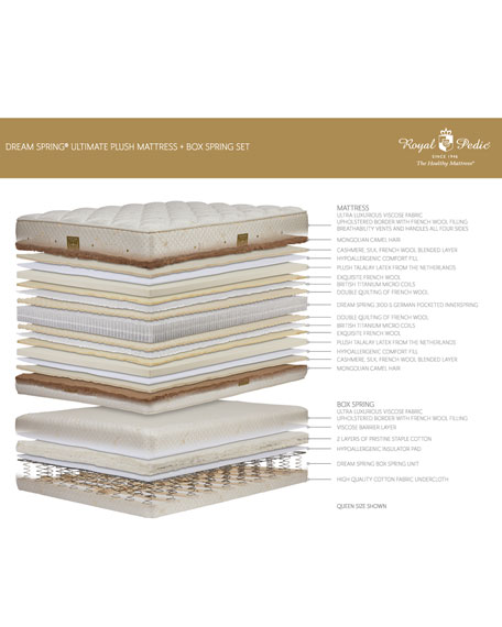 Dream Spring Ultimate Plush Queen Mattress Set