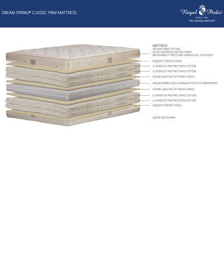 Dream Spring Classic Firm King Mattress