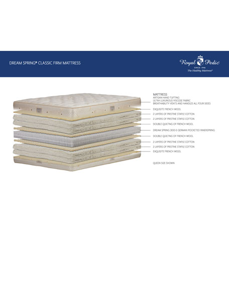 Dream Spring Classic Firm Queen Mattress