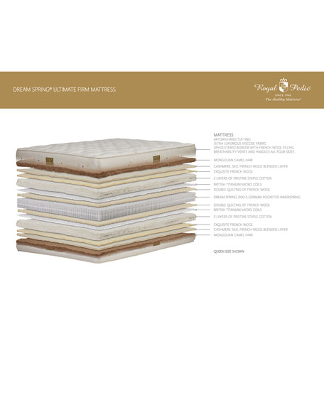 Dream Spring Ultimate Firm California King Mattress