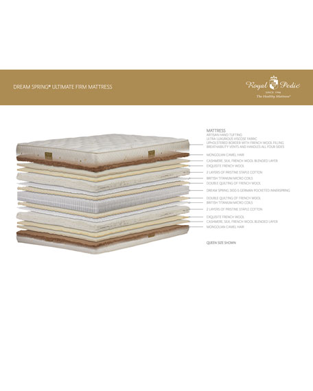 Dream Spring Ultimate Firm King Mattress