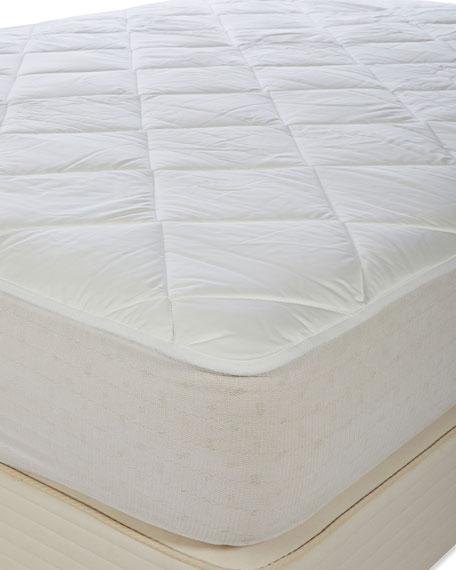 Luxury All Cotton Mattress Pad - King