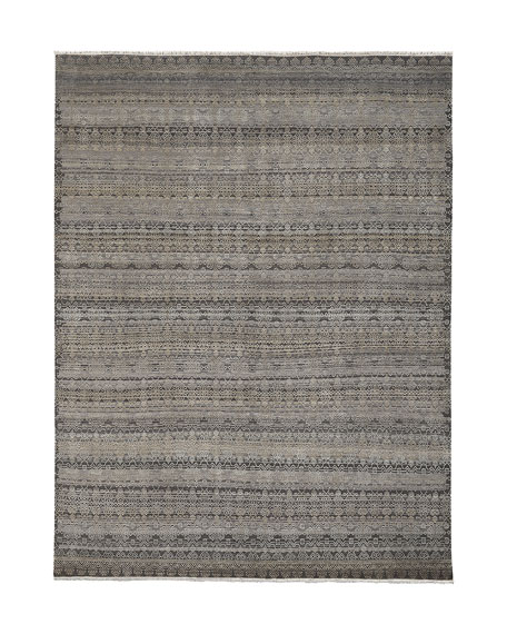 Harlan Hand-Knotted Rug, 8' x 10'