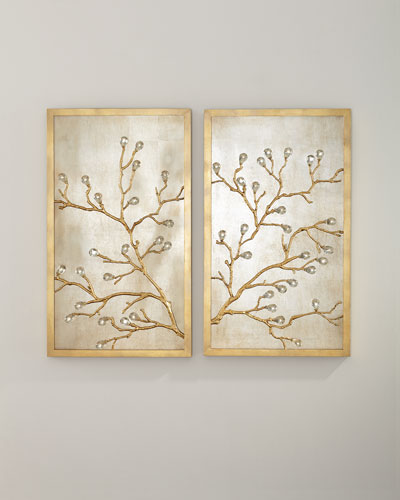 Branch Wall Decor  Set of 2