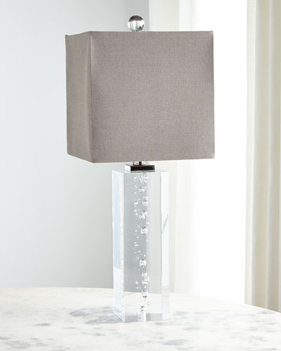 Bubble Block Table Lamp