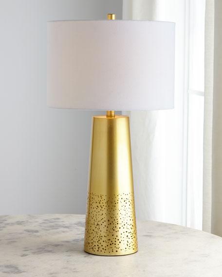 Orion Pierced Metal Lamp