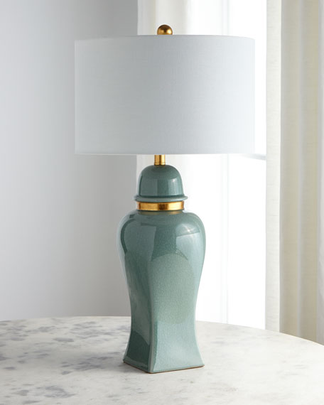 Jade Jar Table Lamp