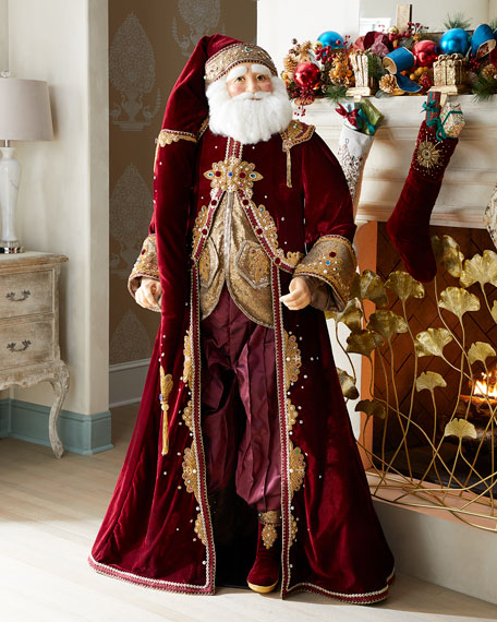 Life-Size Gifts of Christmas Santa