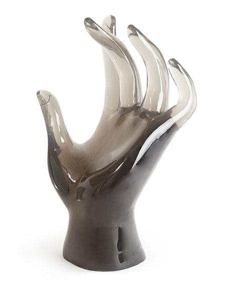 Acrylic Giant Hand Sculpture