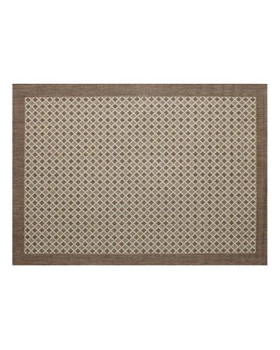 Silver Collection Outdoor Rug  7.1' x 10'