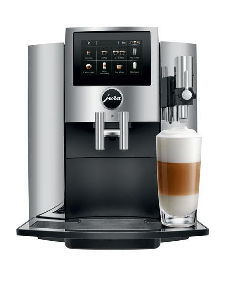 JURA S8 Automatic Coffee Machine, Chrome