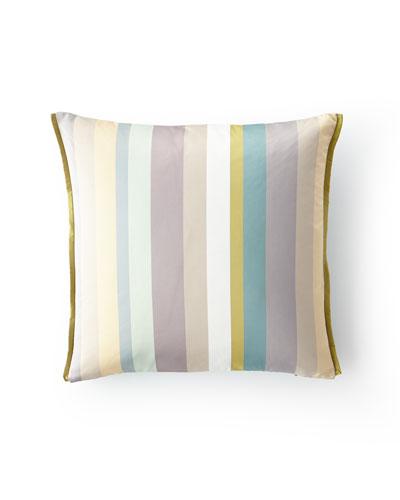 Tanchoi Celadon Pillow