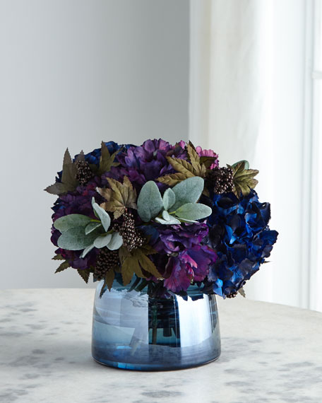 John-Richard Collection Blueberry Delight Arrangement