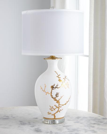 John Richard Collection Porcelain Table, Porcelain Table Lamp