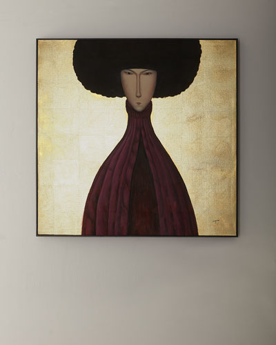 Man in Plum Giclee Art by Teng Fei