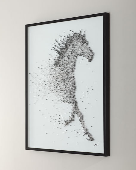 """Sprinting Stallion"" Canvas Art by Tony Fey"
