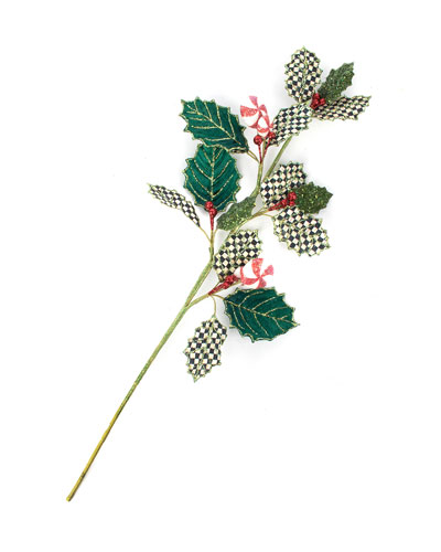Holly Peppermint Pick