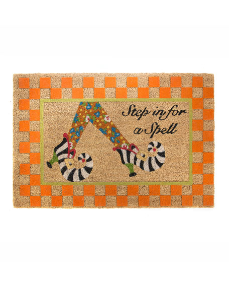 Step In For A Spell Entrance Mat