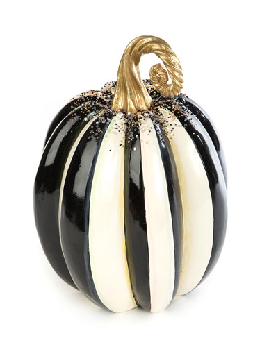 Beaded Stripe Medium Pumpkin