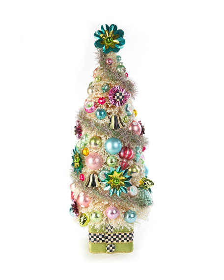 MacKenzie-Childs Home Sweet Snow Nostalgia Tree