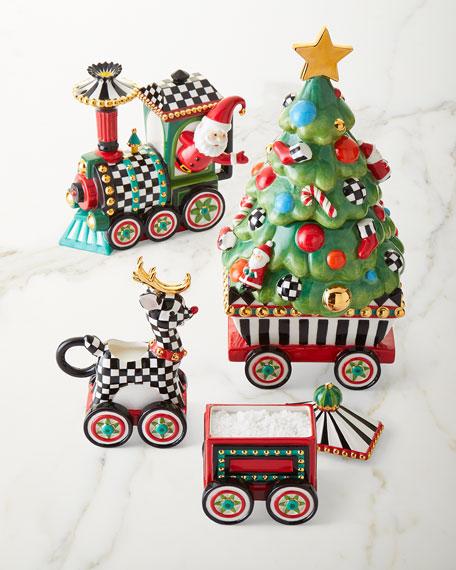 NM Christmas Train Tea Set