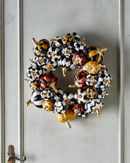 NM Pumpkin Wreath