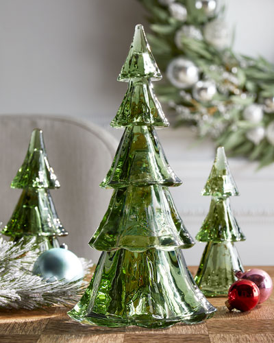 Berry & Thread Full Evergreen Tree Tower  Set of 5