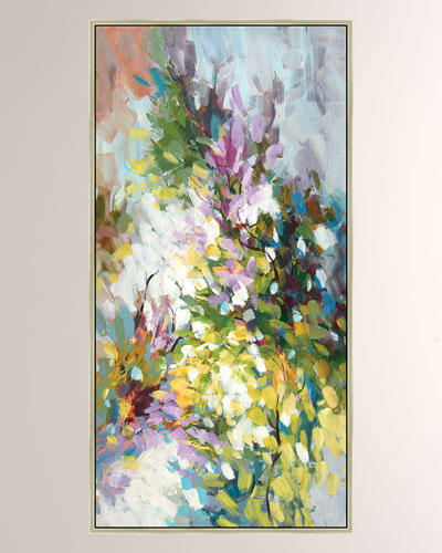 Bursting Blooms II Giclee Canvas Art