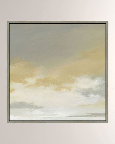 """Storm Brewin II"" Giclee Canvas Art"