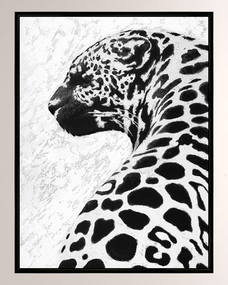 """Chee-Tah"" Giclee Canvas Art"