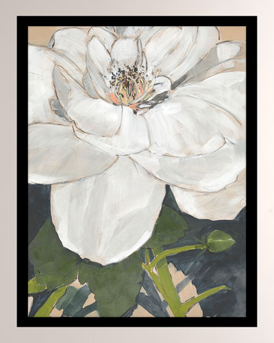 Marked By Magnolias I Giclee Canvas Art