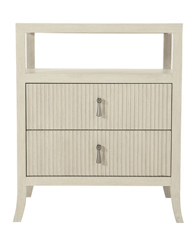 East Hampton Reeded Night Stand