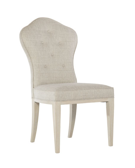 East Hampton Button Tufted Side Chairs, Set of 2