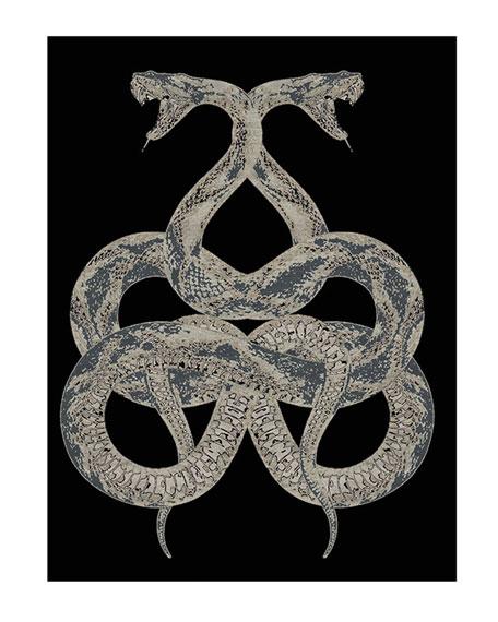 Snake Rug, 9.8' x 6.5'