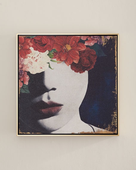 """""""Floral Glamour"""" Wall Art"""