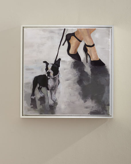"""City Dogs III"" Wall Art"