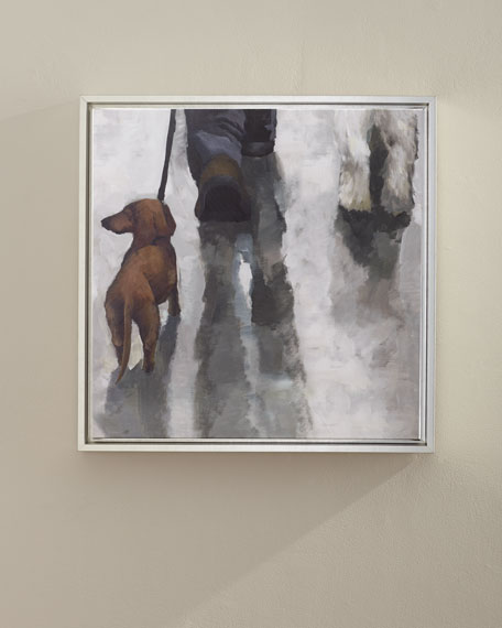 """City Dogs II"" Wall Art"